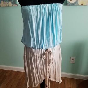 Women's size 12 strapless tunic